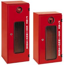 Fiberglass Fire Extinguisher Box