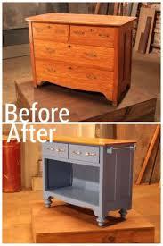 Creative Kitchen Island Ideas 96 Best Old Dresser Into Kitchen Island Images On Pinterest