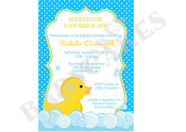 New Office Invitation Card Baby Shower Duck Invitations Theruntime Com