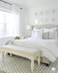 seven ideas to decorate the foot of your bed kelley nan i used one in our white guest bedroom the full reveal and sources can be found here to provide extra seating and to serve as an area to set open luggage