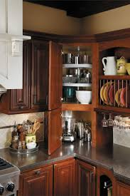 Kitchen Cabinet Top Decor by Best 25 Corner Cabinet Kitchen Ideas Only On Pinterest Cabinet