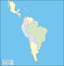 Latin America Map Labeled by Latin America Printable Blank Map South America Brazil Outline