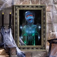 haunted magic mirror the green head