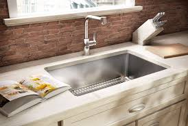 Kitchen Sinks Pros  Cons Of Different Materials Hatchett - Granite kitchen sinks pros and cons