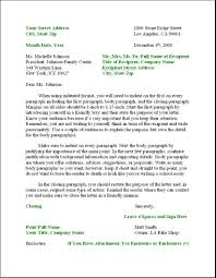 Example Of A Modified Block Style Business Letter by L U0026r Business Letter Format Letter U0026 Resume