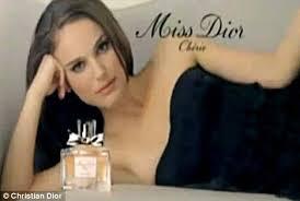 Natalie Portman Glows for Miss Dior Cherie