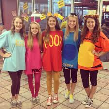 halloween costume ideas pairs homemade winnie the pooh and friends halloween costumes