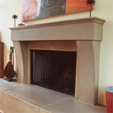 modern fireplace from sonoma cast stone