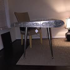 airplane wing desk boeing honda jet wooden airplane big model