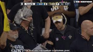 Saints Costumes Halloween Saints Fans Don Rob Ryan Sean Payton Costumes Sbnation