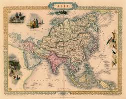 Blank Map Of Afro Eurasia by Antique Map Of Asia By Tallis 1851 Map Asia World Pinterest
