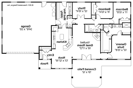 Simple 4 Bedroom Floor Plans 53 Simple Floor Plans For Ranch Homes Simple Ranch House Plans