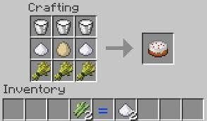 Как скрафтить торт