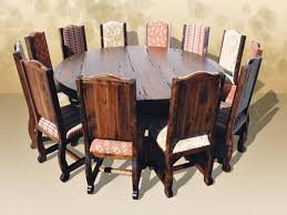 Large Dining Room Tables by Dining Table Large Round Dining Table Seats 12 Pythonet Home