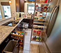 Built In Trash Cans Under Sink Trash Can Kitchen Cabinet Organizers - Kitchen cabinet accesories