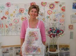 Kirsten Jones in her studio - kirsten-jones-in-studio