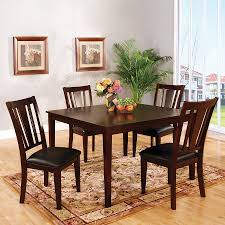 Brown Dining Room Table Shop Dining Sets At Lowes Com