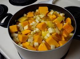 Image result for apple butternut soup in a pot