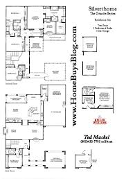 Centex Home Floor Plans by Silverthorne Tract Simi Valley Floor Plans