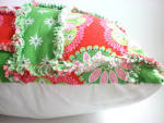 shabby chic holiday pillow christmas throw pillow by madlywish