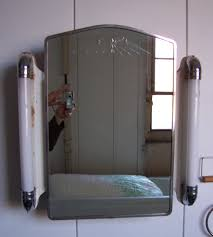 Bathroom Mirror With Lights Built In by Recessed Medicine Cabinet With Lights And Outlet Bar Cabinet