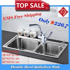 Stainless Steel Kitchen Sinks Cheap Home Design Ideas - Kitchen sinks discount