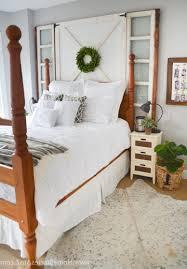 farmhouse style bedroom furniture l shaped white lacquer oak wood