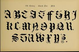 the signist u0027s book of modern alphabets church text calligraphy