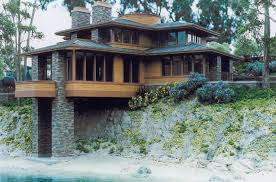 Frank Lloyd Wright Plans For Sale by Frank Lloyd Wright Style Houses Gnscl