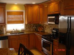 Orange And White Kitchen Ideas Oak Kitchen Designs Oak Kitchen Designs And White Kitchen Design