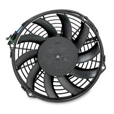 moose oem style replacement cooling fan 1901 0336 atv motorcycle