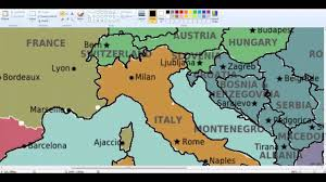 Blank Europe Map by Europe Drawing Blank Map 1 Youtube