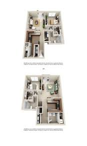 New York Apartments Floor Plans by 1 2 U0026 3 Bedroom Apartment Homes For Rent Hilliard Grand