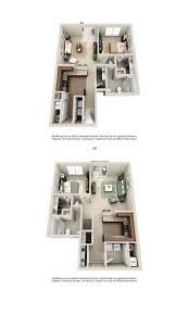 One Room Apartment Floor Plans 1 2 U0026 3 Bedroom Apartment Homes For Rent Hilliard Grand