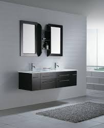 Hanging Bathroom Vanities by Bathroom Designs With Black Cabinets Black Hanging Bathroom