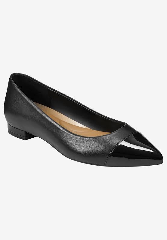 Aerosoles Farmingdale Pointed Toe Ballet Flat, Adult,