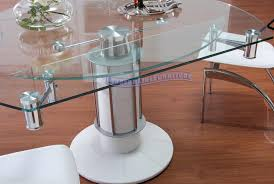 Expandable Table Round Extending Dining Table Seats 12 Expanding Dining Room Table