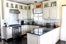 Ivory White Kitchen Cabinets by U Shaped Kitchen Ideas With White Cabinets Eva Furniture