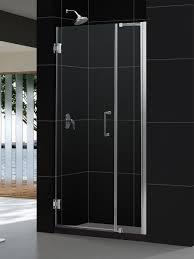 shower stall glass doors dreamline unidoor 35 to 36