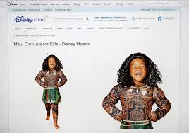 Spencers Store Halloween Costumes Disney Stops Selling Controversial U0027moana U0027 Halloween Costume