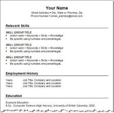 Breakupus Prepossessing Get Your Resume Template Three For Free Squawkfox With Fetching Combination Resume Template With Easy On The Eye Construction Resume     Break Up