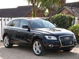 Audi Q5 Black - used phantom black audi q5 for sale dorset