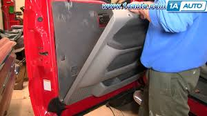 how to install replace remove door panel ford f250 f350 super duty