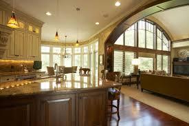 perfect large open kitchen floor plans 9056 big kitchen floor
