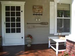Side Porch Designs by Our Vintage Home Love Front And Side Porch Redo