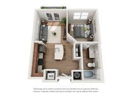 Micro Studio Plan Floor Plans Of River House Apartments In Baton Rouge La