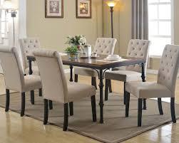 Acme Furniture Dining Room Set Dark Oak Dining Set Vriel By Acme Furniture Ac71580set