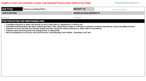 Accounts Payable Job Description  examples of accounts payable