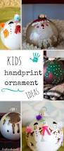 Christmas Tree Ideas 2015 Diy Handprint Ornament And Diy Christmas Ornament Ideas The