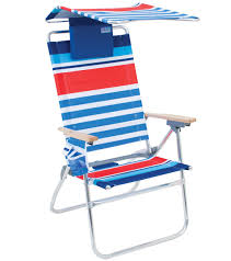 Canopy Folding Chair Walmart Rio Brands Hi Boy Aluminum Beach Chair With Canopy And Pillow At